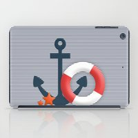 nautical iPad Cases featuring Nautical  by Miracle