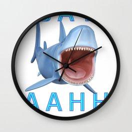 Sharks Tale ..  Wall Clock
