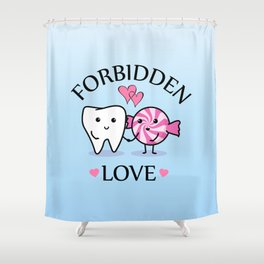 Forbidden Love Shower Curtain