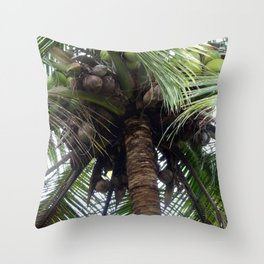 Coconuts! Throw Pillow
