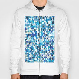 Icy triangles Hoody
