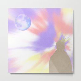 Reflecting On A Dream Metal Print