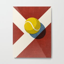 BALLS / Tennis (Clay Court) Metal Print