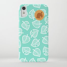 Iphone Wallpaper Animal Crossing New Horizons Leaf Pattern Wallpapershit