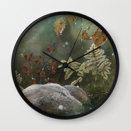 The Big Sleep Wall Clock