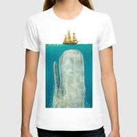 new york city T-shirts featuring The Whale  by Terry Fan