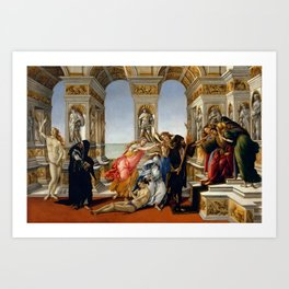 "Sandro Botticelli ""The Calumny of Apelles"" Art Print"