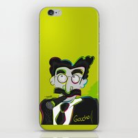 marx iPhone & iPod Skins featuring Groucho Marx by EarlyHuman