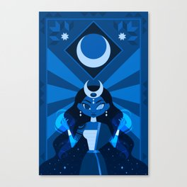 Mayari: The Philippine Moon Goddess Canvas Print