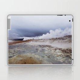 Man on the moon, Iceland Laptop & iPad Skin