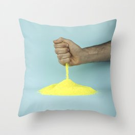 The weatherman Throw Pillow