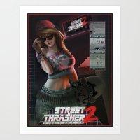 Street Thrasher 2 Art Print