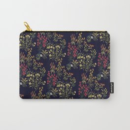 Tapestry Floral Carry-All Pouch