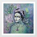 Magical Girl Frida by brettisagirl