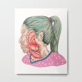 Self Portrait II Metal Print