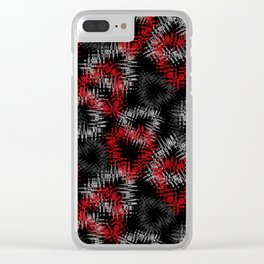Broken hearts. Clear iPhone Case