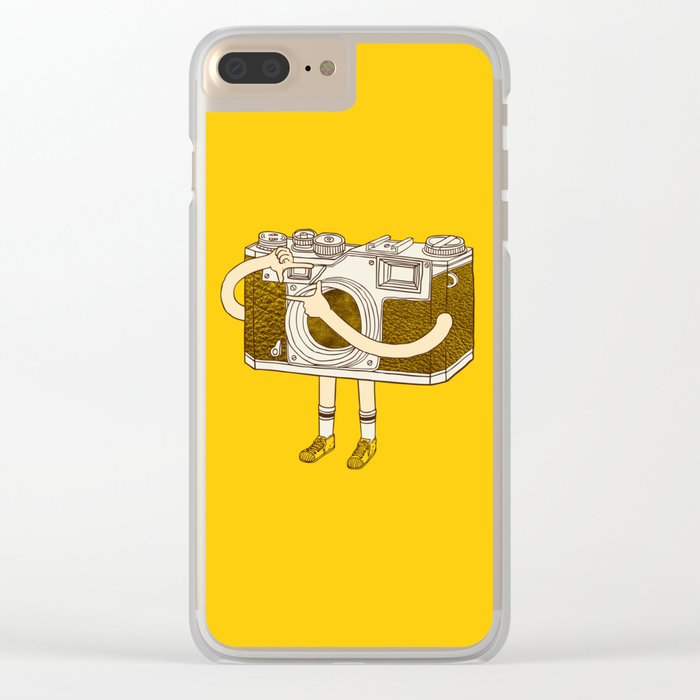 Photographer Clear iPhone Case