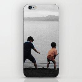 On The Lake iPhone Skin