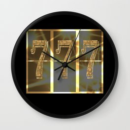 Wonderful picture as a gift for good luck! Wall Clock