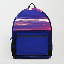 Dusk on the Sea Backpack