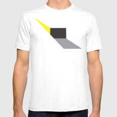Zap! LARGE White Mens Fitted Tee