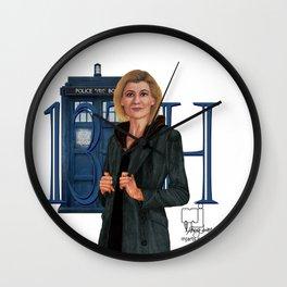 13th Doctor Wall Clock