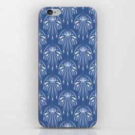 Light dreams. Blue Deco. No. 1. iPhone Skin