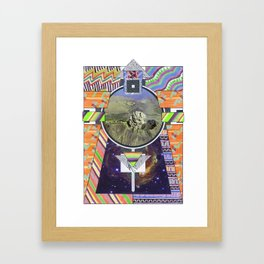 Temple Of Doom (2011) Framed Art Print