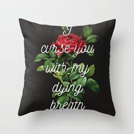 Curses Throw Pillow