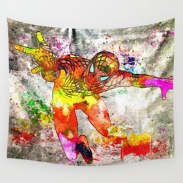 Spidey Grunge Wall Tapestry