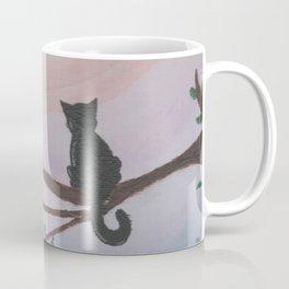 Watching a Hopeful Sunset Coffee Mug
