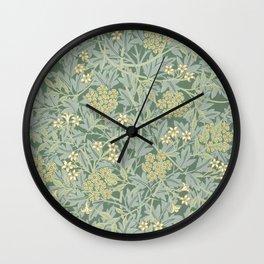 Jasmine by William Morris Wall Clock