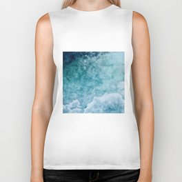 Over The Clouds Biker Tank
