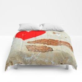 heart graffity Comforters