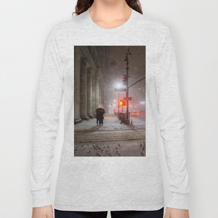 New York City Snow Romance Long Sleeve T-shirt
