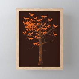 Blazing Fox Tree II Framed Mini Art Print
