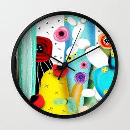 Cactus Mexico Wall Clock