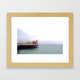Brighton Framed Art Print
