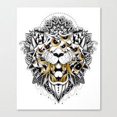 Gold Eyed Tiger Canvas Print