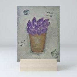 Lilas Mini Art Print