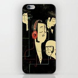乐 Music Lovers / Vintage iPhone Skin