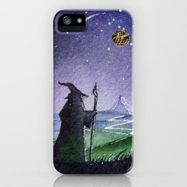 The Gray Wizard iPhone Case