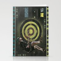 acdc Stationery Cards featuring AC/DC by Ray Stephenson