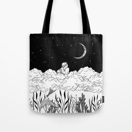 Moon River Tote Bag By Henn Kim