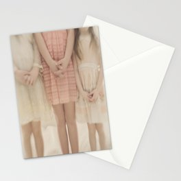 pretty little maidens Stationery Cards