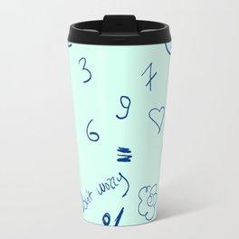 Absent Mind Formation #society6 #decor #typography Travel Mug