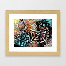 Peak Ascension Framed Art Print