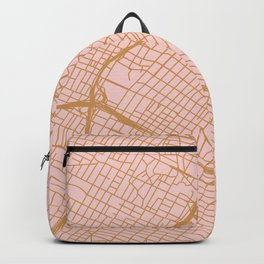 Los Angeles map Backpack