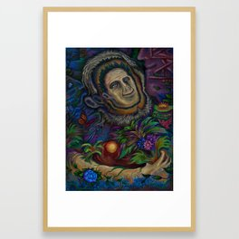 """""""Happiness Within Happiness"""", A Painting By Landon Huber Framed Art Print"""