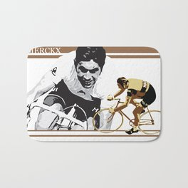 cycling legend Eddy 'The Cannibal' Merckx Bath Mat